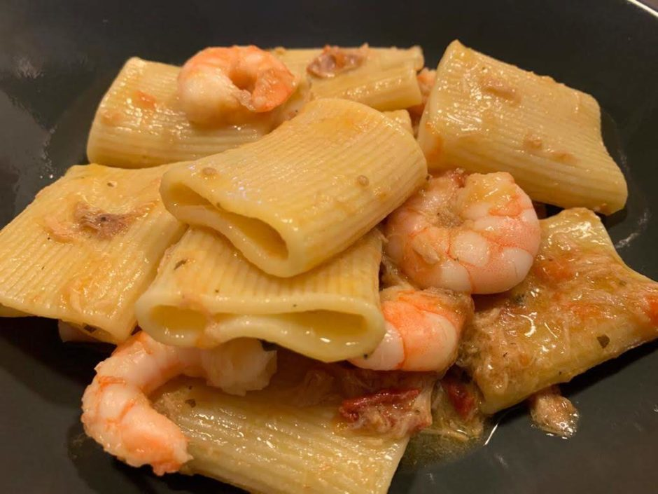Shrimp pasta recipes