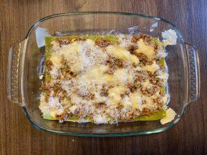 Lasagne bolognesi layer