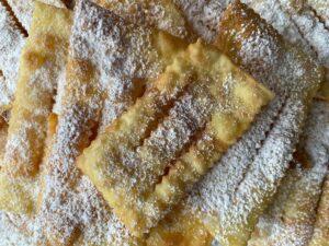 Italian Carnival fritters