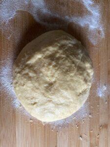 Italian Carnival fritters dough