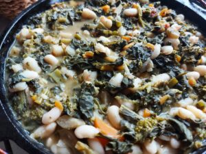 Authentic ribollita soup - before the bread