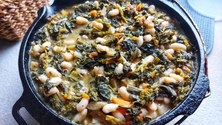 Authentic ribollita soup - ready to be served