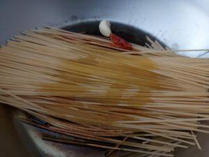 Killer spaghetti - spices
