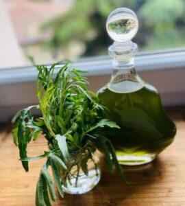 Rucolino (arugula liqueur) - ready